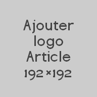 Ajouter logo Article 192×192